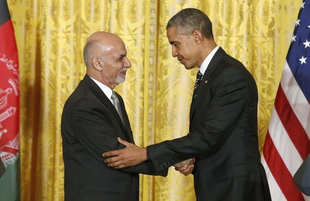 Newly Elected Afghan President Visits U.S. to Rebuild Relations