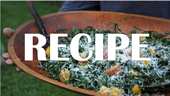 Shredded Kale Caesar Salad Recipe | Kitchen Vignettes