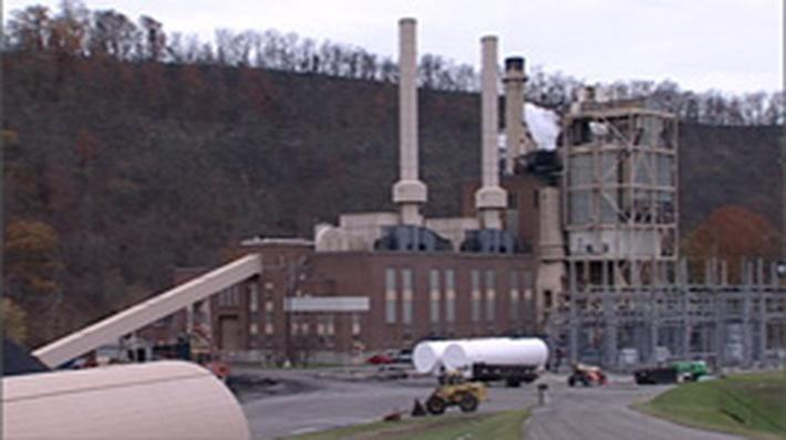 Making Electricity at a Coal-Burning Plant