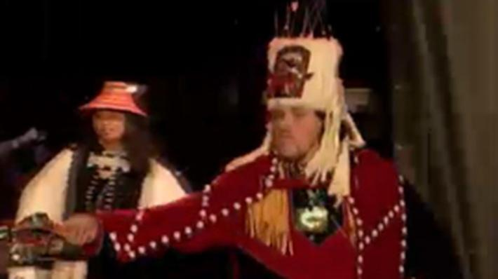 Native American Culture: Git-Hoan Chief's Headdress Dance