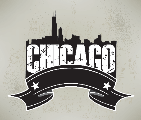 Chicago Skyline Banner Graphic | Clipart | Social Studies ...