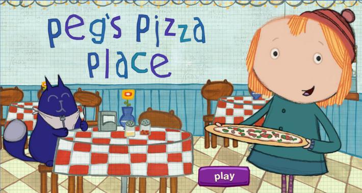 Peg's Pizza Place | Peg + Cat