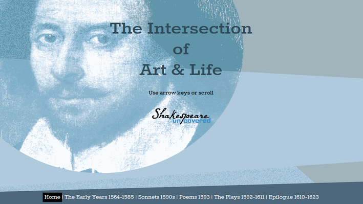 Shakespeare: The Intersection of Art & Life Timeline