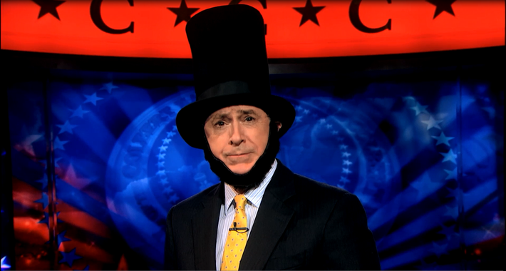 Stephen Colbert Recites the Gettysburg Address