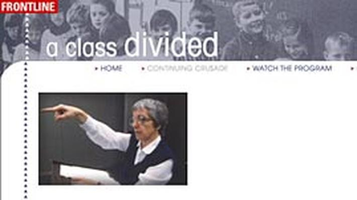 """jane elliott a class divided essay This racial event gave jane elliott, a third grade teacher from iowa, an idea  in  this essay i will discover elliott's attempts to persuade her students  elliott's  original exercise was titled """"a class divided"""" while in a very basic."""