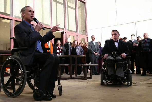 Student's Wheelchair Challenge Makes Texas School More Accessible