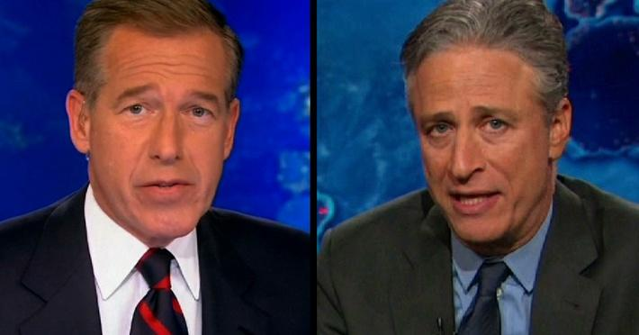 Brian Williams Suspended; Jon Stewart to Exit The Daily Show