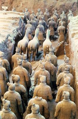 Educational Standards Terracotta Army Qin Dynasty 210 Bc Art