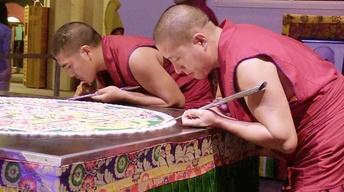 Oct. 26 2017 | Tibet-Mandala Sand Paintings