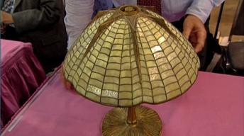 S21 Ep29: Appraisal: Tiffany Studios Spider Shade Lamp, ca.
