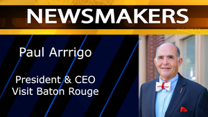 Paul Arrigo, President & CEO Visit Baton Rouge