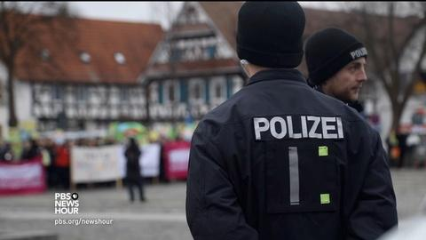PBS NewsHour -- Crime spike in Germany puts pressure on immigration policy