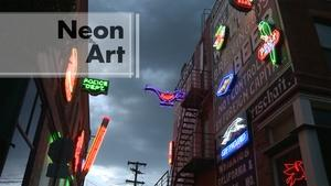 Southern Colorado's Neon Alley