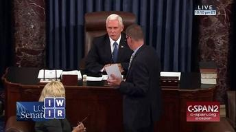 Vice President Pence Breaks Another Tie - October 27, 2017