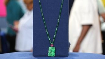 S22 Ep3: Appraisal: Chinese Jadeite & Tourmaline Necklace, c