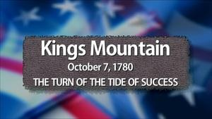 Kings Mountain: The Turn of the Tide of Success