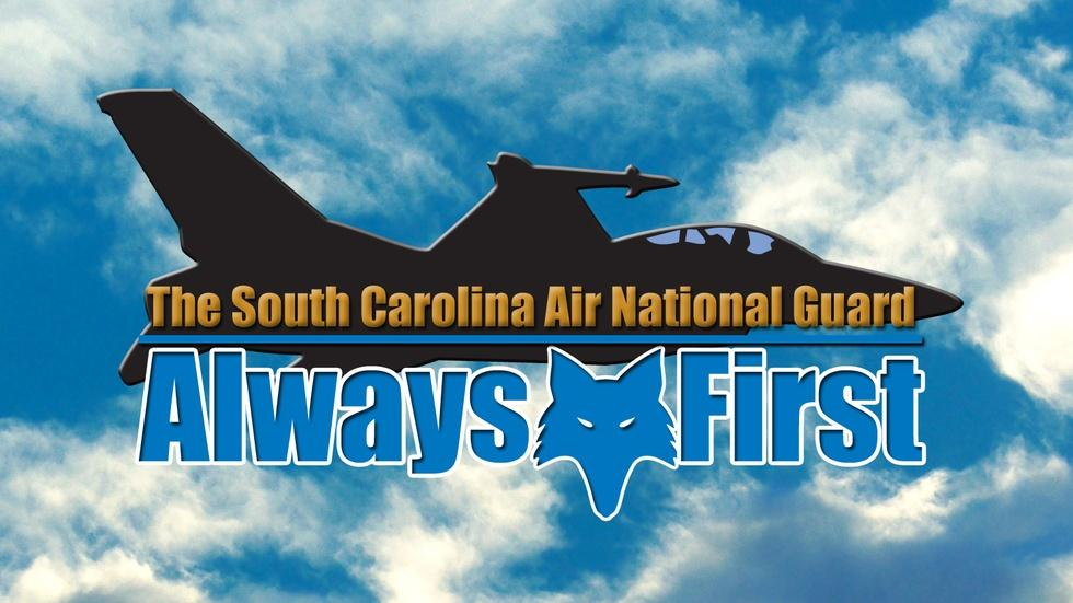 Always First: The S.C. Air National Guard logo