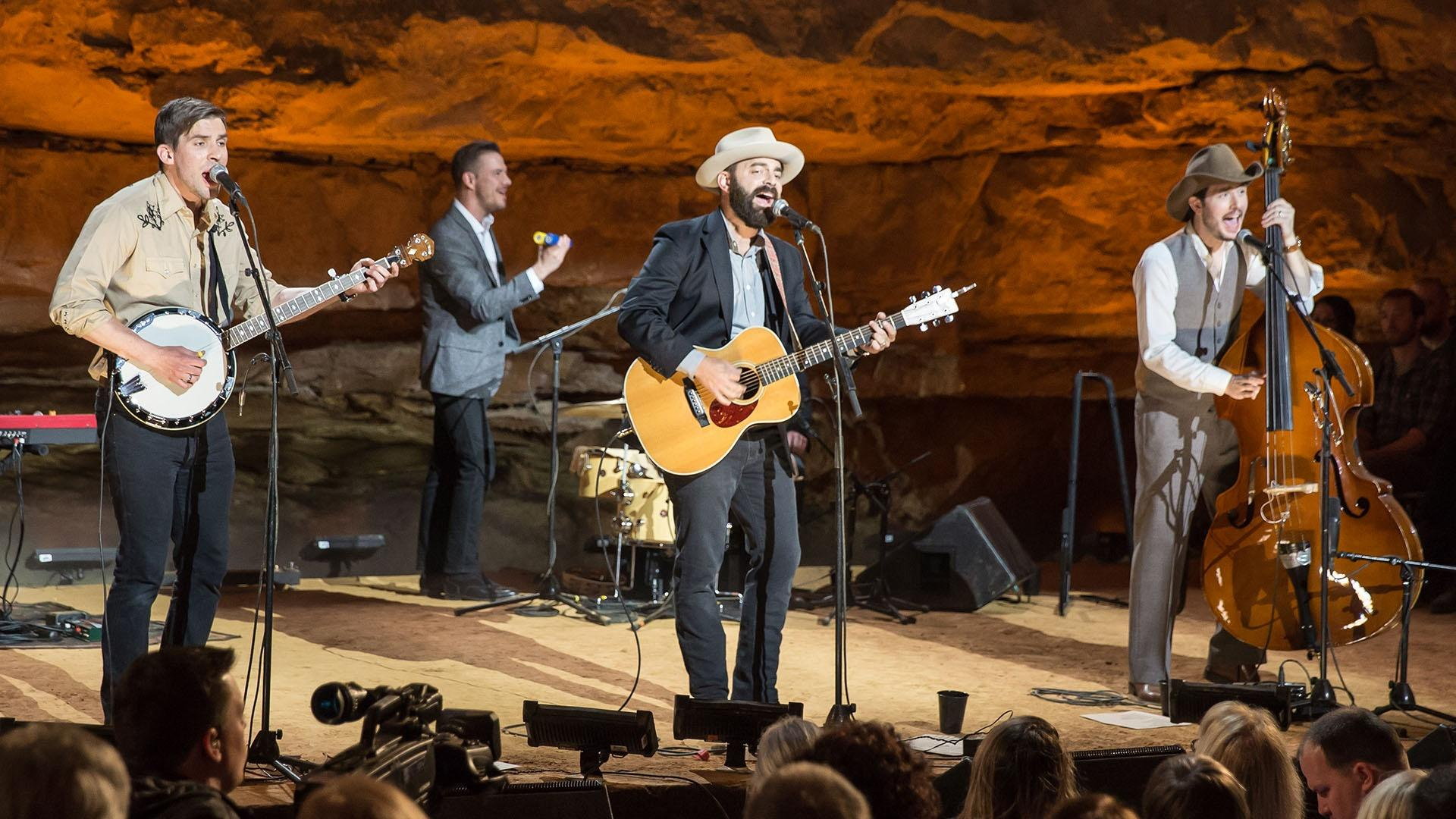 Next on Bluegrass Underground | Drew Holcomb & The Neighbors