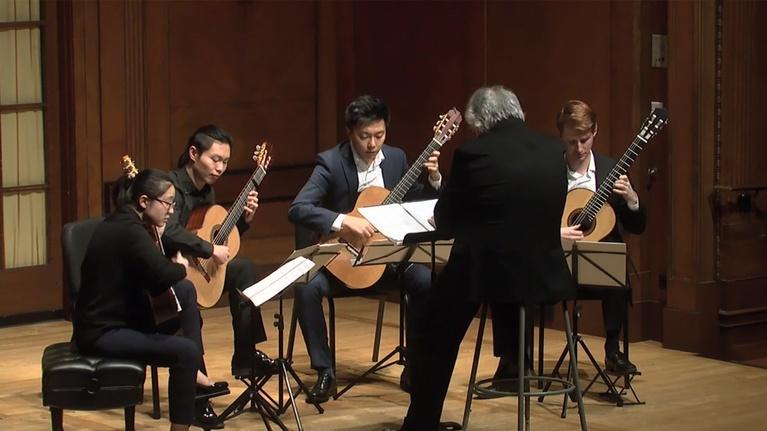 On Stage at Curtis: Guitar Department Student Recital