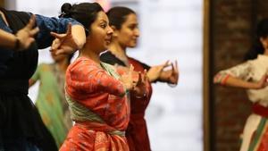 Ellen Harvey, Bharatanatyam: Indian Dance, Xenia Rubinos