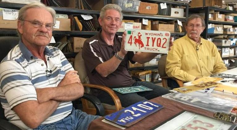 Wyoming Chronicle: Wyoming's License Plates and the Folks Who Collect Them