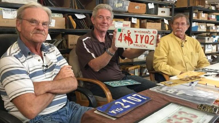 Wyoming's License Plates and the Folks Who Collect Them