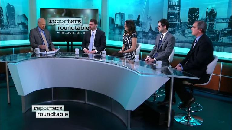 Reporters Roundtable: Murphy and Sweeney at odds, congressional seat up for grabs
