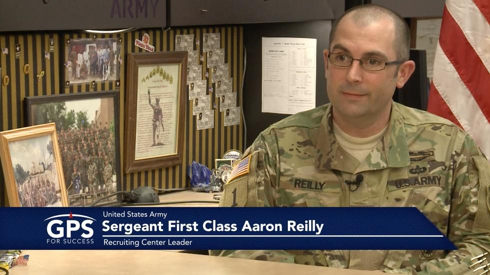 Sergeant First Class Aaron Reilly Extended Interview image