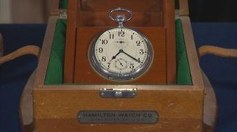 S22 Ep3: Appraisal: 1916 Hamilton Deck Watch in Box