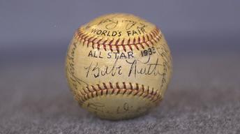 S21 Ep20: Appraisal: 1933 All-Star Game Signed Baseball