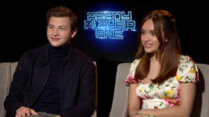 """Tye Sheridan and Olivia Cooke for """"Ready Player One"""""""