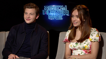 "Tye Sheridan and Olivia Cooke for ""Ready Player One"""