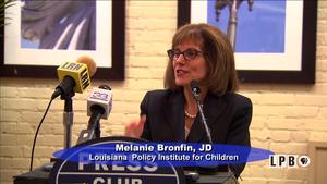 05/01/17 - Melanie Bronfin, La. Policy Institute, and Belind