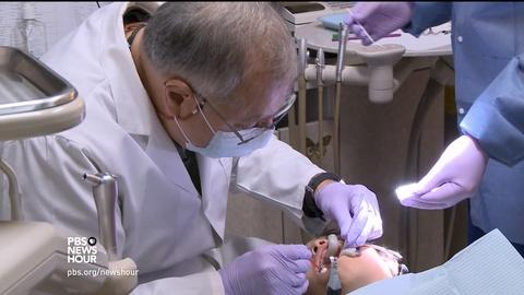 PBS NewsHour -- This new treatment could make dentals visits more bearable