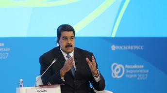 Maduro: Trump has 'no right' to joke about military action