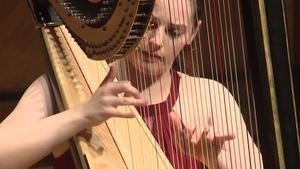 Harpist Abigail Kent Graduation Recital