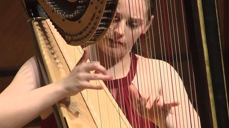 On Stage at Curtis: Harpist Abigail Kent Graduation Recital