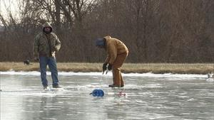 Fishing Through Ice