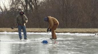 Fishing Through Ice