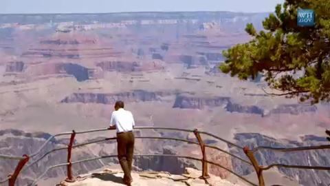 The National Parks -- Mr. President Goes to Yellowstone