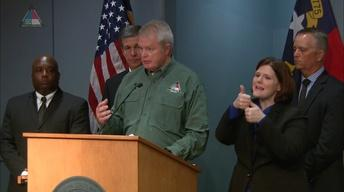 NC Governor Roy Cooper's Weather Briefing - 09/08/17