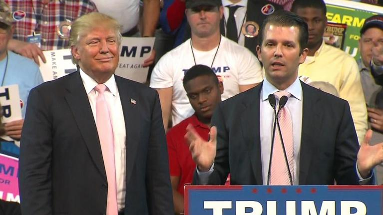 White House in crisis mode after Donald Trump Jr.'s emails w