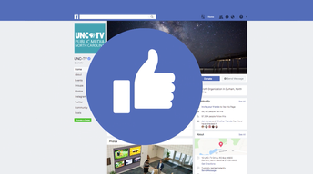 Get UNC-TV stories in your Facebook Newsfeed