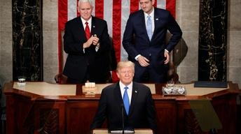 Watch President Trump's 2018 State of the Union Address