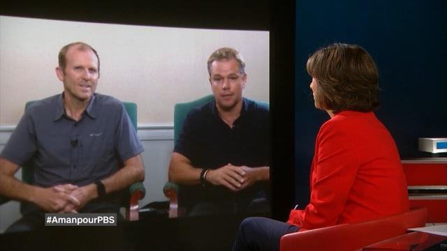 Amanpour: Matt Damon, Gary White and Lauren Bonner