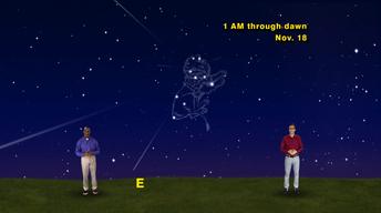 """The Leonid Meteor Shower"" Nov 6-12th 1 Min"