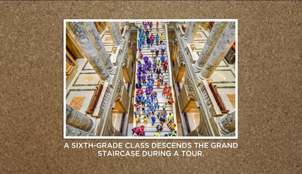 Capitol Pics: Students & Crowds