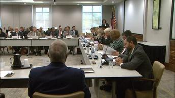 The UNC Board of Governors Meeting, September 7,2017