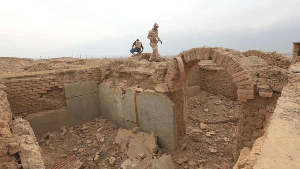 Ancient city of Nimrud reduced to rubble by ISIS image