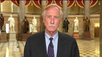 Sen. Angus King on getting the facts on Russia meddling